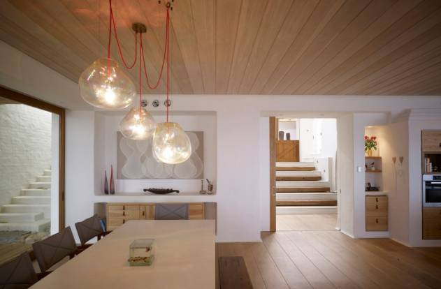 деревянные потолки фото