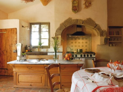 Кухня в стиле французского кантри
