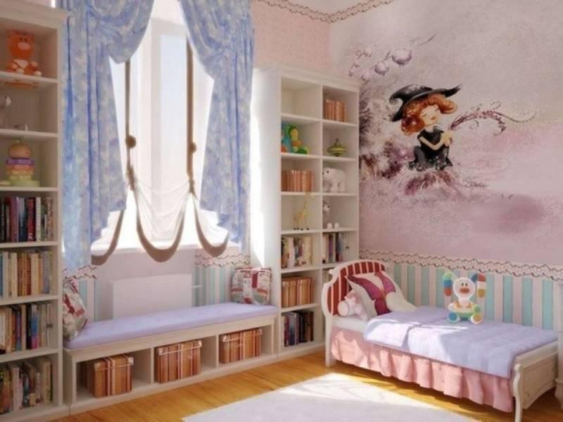 Интерьер детской комнаты для девочкек