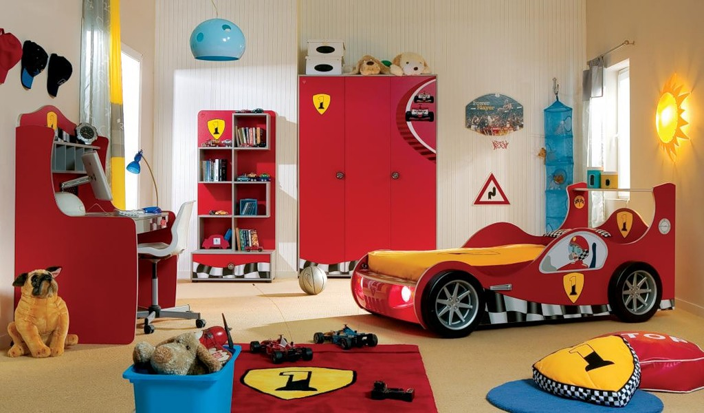 Детские комнаты для мальчиков фото