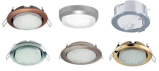 Как выбрать точечные светильники для потолка