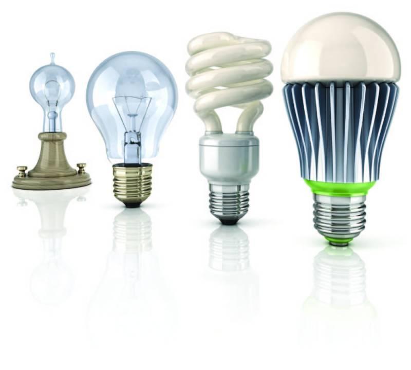 Энергосберегающее лампы освещения