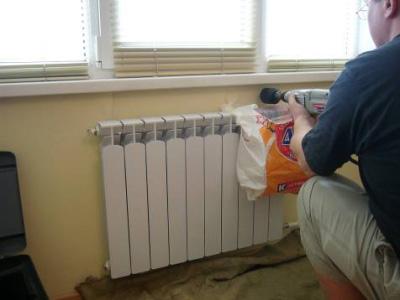 установка вентиляционного клапана