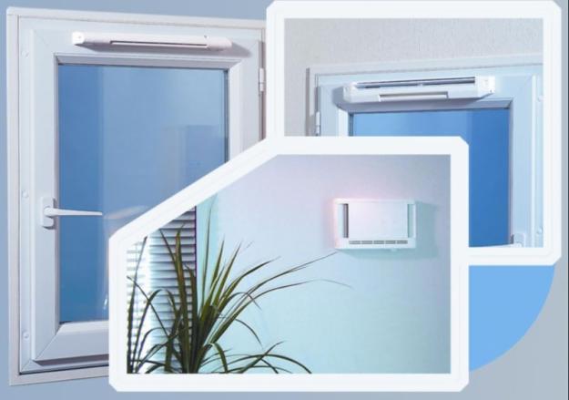 Вентиляция пластиковых окон