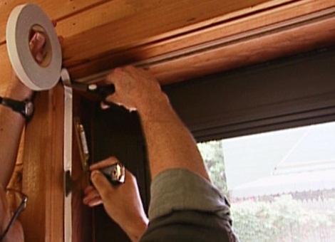 Звукоизоляция деревянных входных дверей