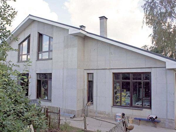 дом из монолитного пенобетона фото