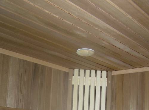 Порода дерева для потолка бани