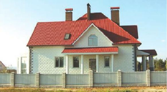 дом из теплоблока
