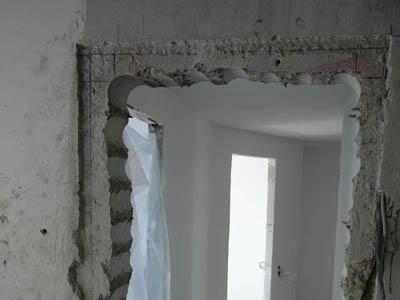 как сделать проем в бетонной несущей стене