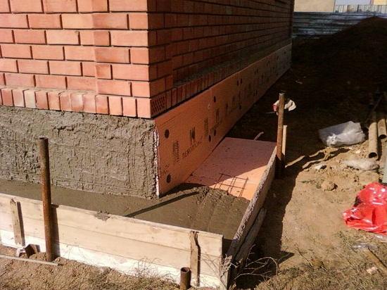 Утепляем фундамент и цоколь дома самостоятельно