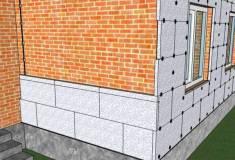 Как утеплить дом пенопластом снаружи