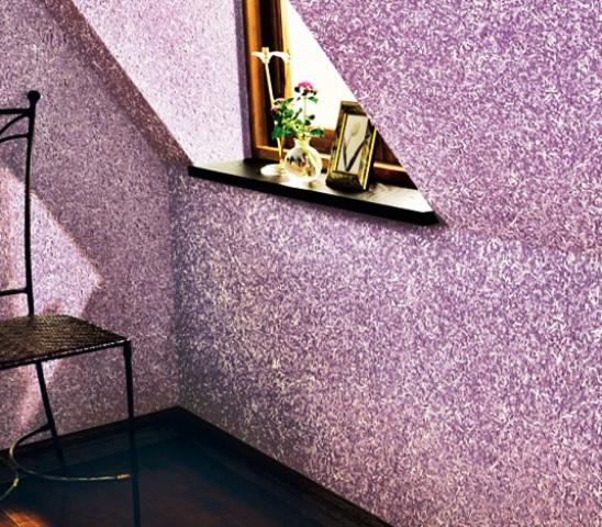 Декоративное покрытие для стен флок