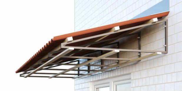 Строим крышу для балкона последнего этажа