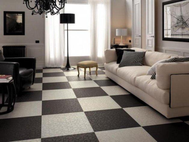 Плитка на пол в квартире