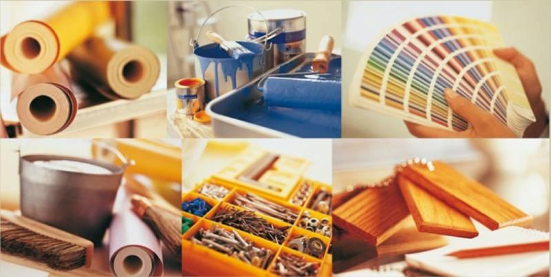 закупка товаров для ремонта квартиры