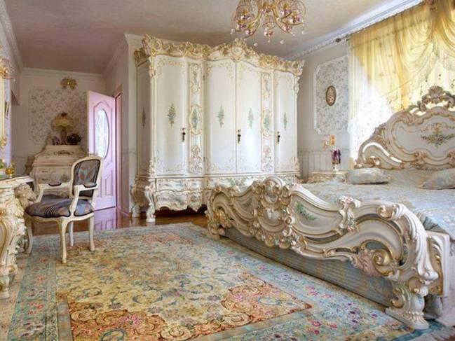 мебель для спальни барокко