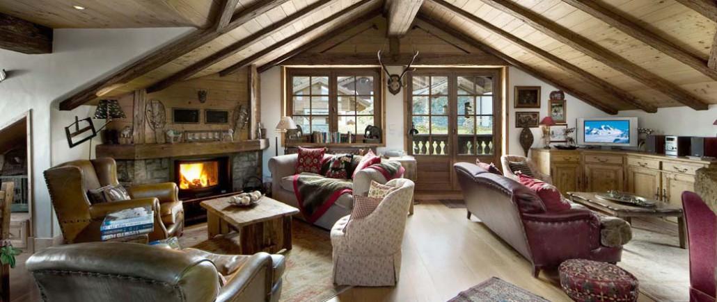 Как создать интерьер в стиле шале в доме