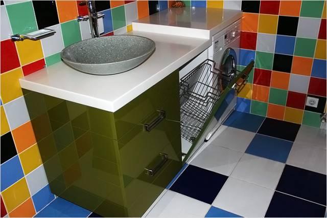 Выбор мебели в зависимости от площади ванной комнаты