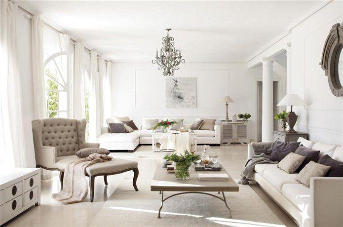 Мебель в интерьере во французском стиле