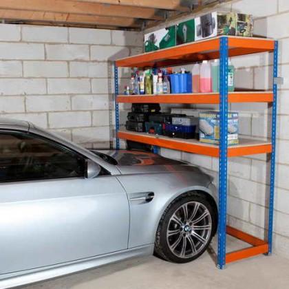 Как сделать стеллаж в гараже своими руками