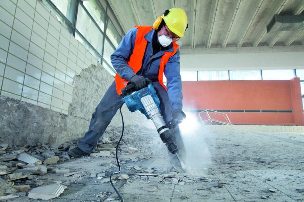 проведения демонтажных работ в ходе ремонта