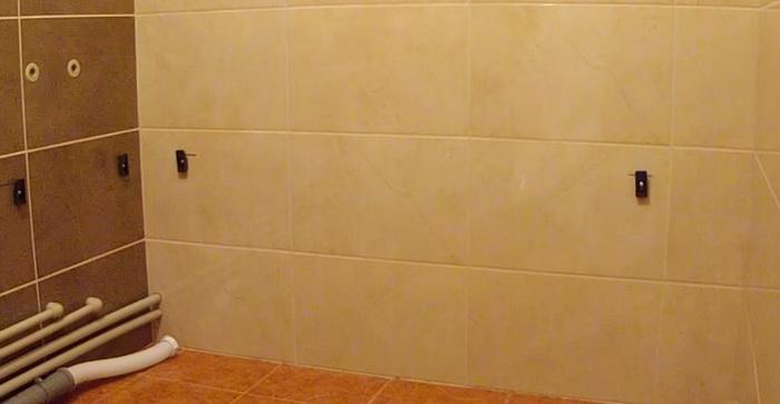 подготовка к установке акриловой ванны