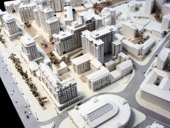 Градостроительный архитектурный макет