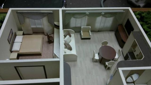 Макет квартиры из картона своими руками