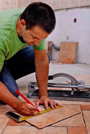 Как сделать реставрацию керамической плитки