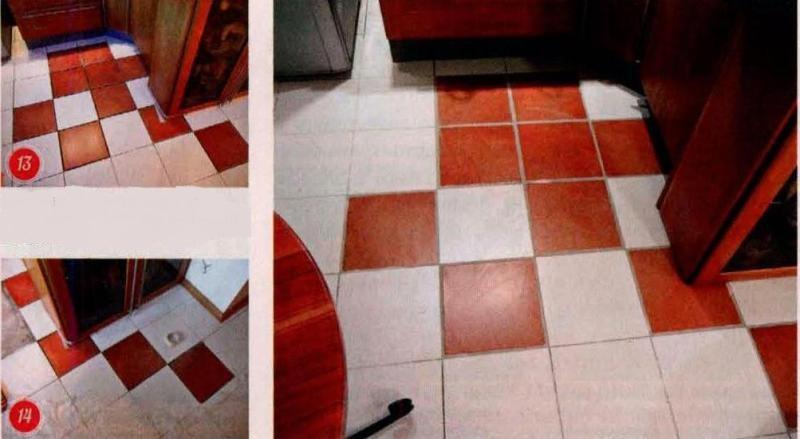Реставрация плиточного покрытия