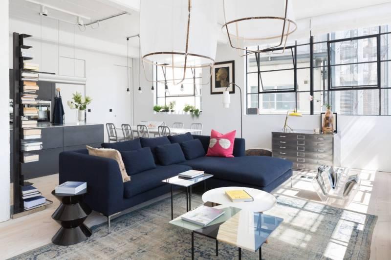 Мебель для стиля лофт в квартире студии