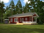 Красим деревянный дом снаружи