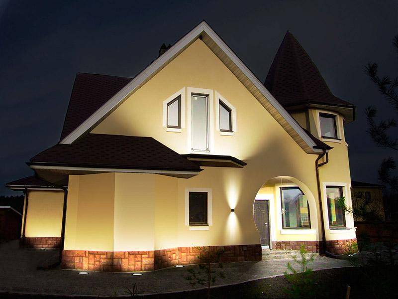 Варианты светодиодного освещения дома