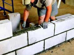 Из чего строить перегородки
