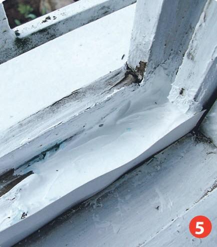 Как отремонтировать старое окно на даче