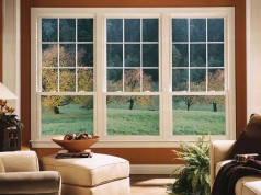 Варианты панорамных окон для дома