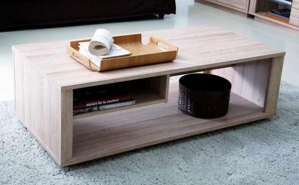 самый простой журнальный столик, изготовленный из плиты МДФ