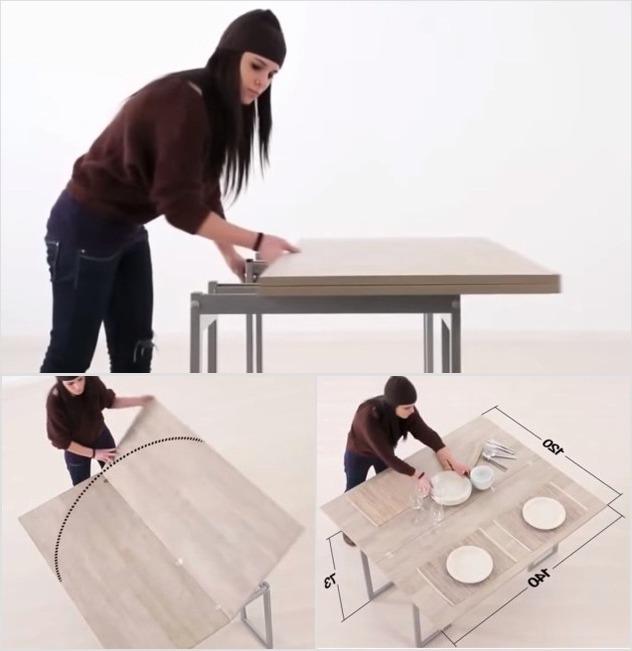 столик-трансформер «три в одном»