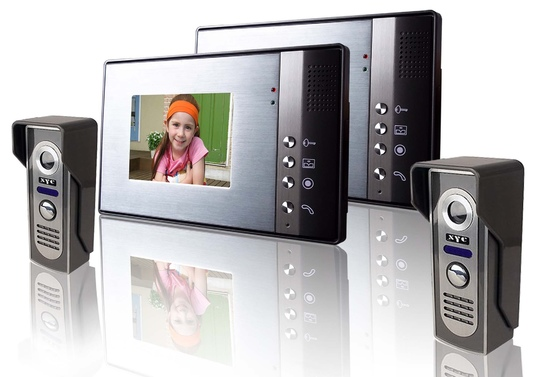Видеодомофон с датчиком движения