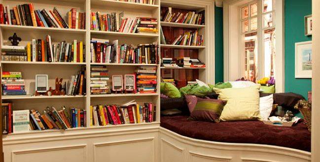 Интересные идеи организации домашней библиотеки