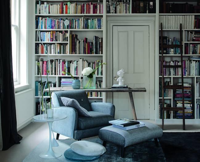 Вся стена под книги