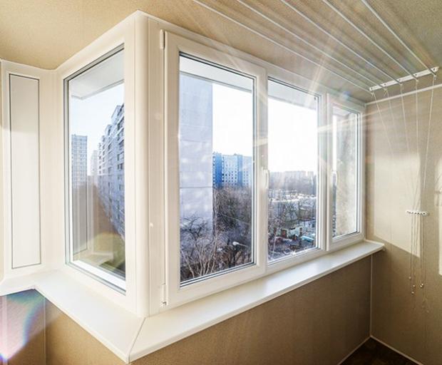 Какие окна выбрать для остекления балкона?.