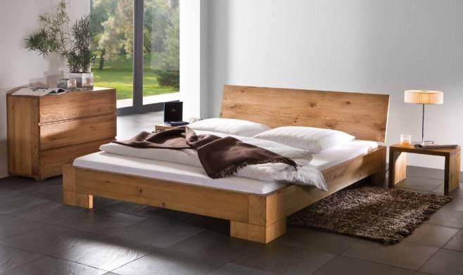 for Chambre a coucher en bois rouge