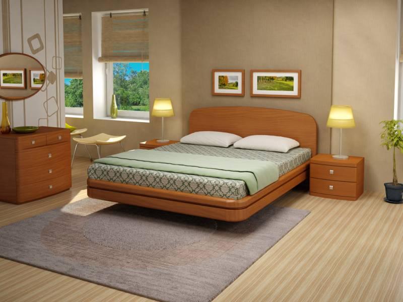 кровать с ножками