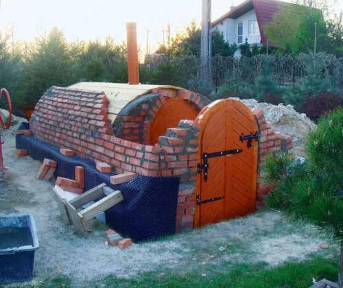 Изготовить погреб на даче