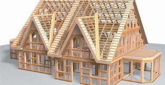 Изюминка строительства домов по технологии каркасного домостроения.