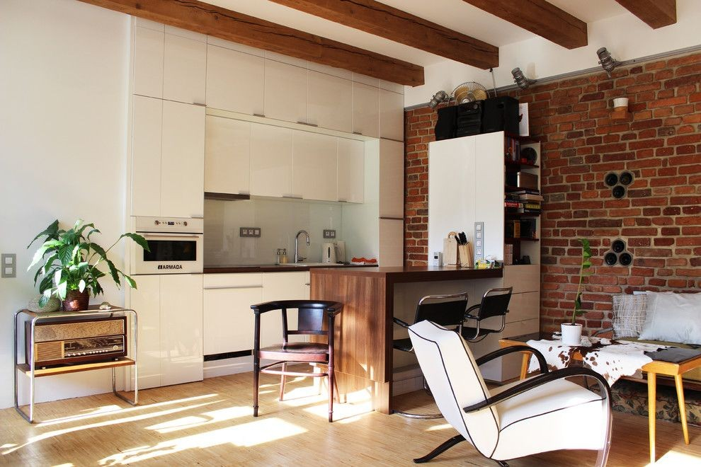 Особенности интерьера кухни в стиле Лофт
