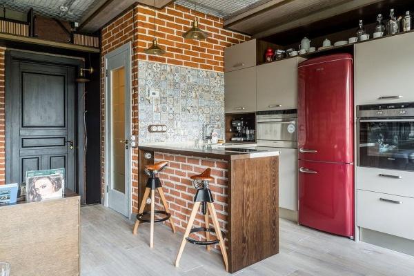 Кухня в стиле лофт - оригинально и современно!
