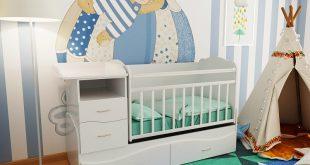 Кроватка-трансформер для новорожденных