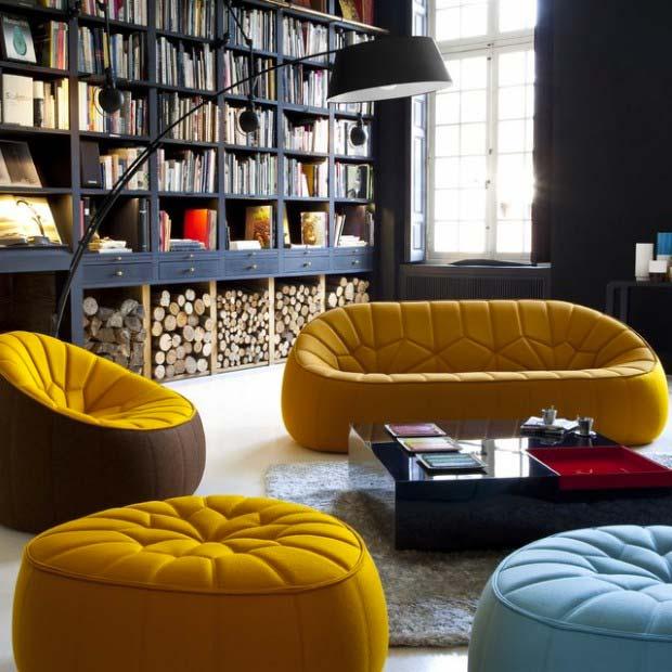 Оформляем интерьер французской мебелью Ligne Roset